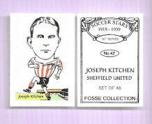 Sheffield Wednesday Joseph Kitchen 42 (FC)